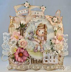 Tilda with Fantasy Flowers / Åsalills crafts