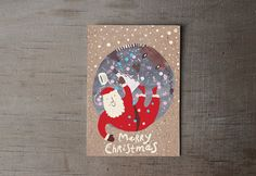 Shop for on Etsy, the place to express your creativity through the buying and selling of handmade and vintage goods. Christmas Shopping, Christmas Cards, Illustration, Creative, Handmade, Etsy, Vintage, Art, Christmas E Cards