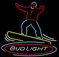 Bud Light Snow Boarder