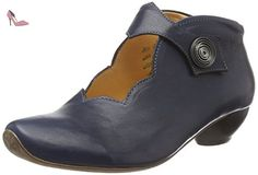 Think!  AIDA, Bottes Classiques femme - Bleu - Blau (Ocean/KOMBI 82), 36 - Chaussures think (*Partner-Link)
