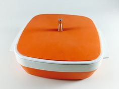 Orange You Glad To Be With Team Vintage USA? by Tiger on Etsy