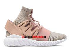 Adidas Originals Tubular Doom PK - Chaussures Pas Cher Pour Femme St Pale Nude Brown BB2390-Boutique Adidas Originals de Running (FR) - LaAdidasOriginals.fr