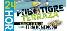 #24horas, #fiesta, #pubtigre, #feriamediodia,#maria