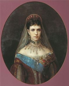 Царица Мария Фёдоровна Романова (Дагмар)
