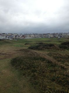 view towards 17th green at Portstewart Old Course