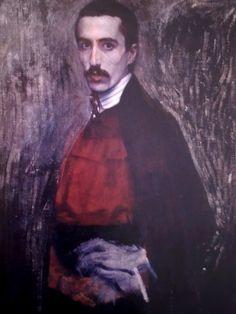 Domenico Baccarini, Autoritratto con sottana, 1905