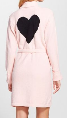 Betsey Johnson sweater robe  http://rstyle.me/n/uw9e2pdpe