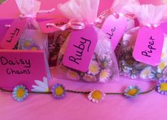 Daisy Chain party favours Party Favours, Favors, Daisy Chain, Cheers, Cow, Lily, Decorations, Create, Gifts