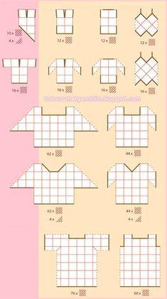 44 New Ideas For Crochet Granny Square Poncho Pattern Color Combos Granny Square Häkelanleitung, Granny Square Crochet Pattern, Crochet Diagram, Crochet Chart, Crochet Squares, Crochet Granny, Crochet Motif, Crochet Designs, Crochet Patterns