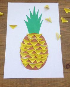 Pineapple fruit food activity