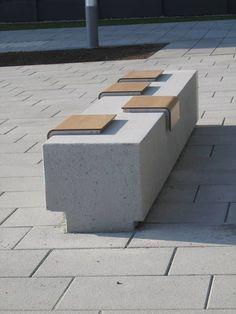 AREVA, Neubau Firmenzentrale, Adler Olesch, modern seating: #landscapearchitectureplan