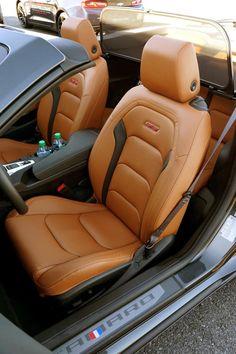 2016 Chevrolet Camaro Convertible photo tour: 2016 Chevrolet Camaro Convertible front seat cars.about.com/... #aarongold
