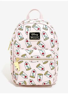 BoxLunch : Loungefly Disney Beauty And The Beast Enchanted Rose Mini Backpack - BoxLunch Exclusive