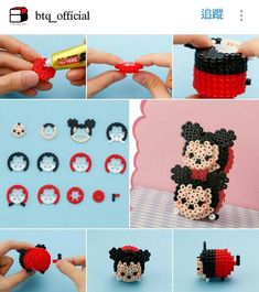 Image result for mickey mouse perler bead patterns
