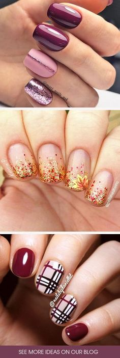 The trendiest fall nail designs require some practice to look perfect. However, if you are patient, you c The trendiest fall nail designs require some practice to look perfect. However, if you are patient, you can easily make your nails look amazing. Fall Nail Designs, Cute Nail Designs, Acrylic Nail Designs, Nails Design Autumn, Fall Nail Ideas Gel, Glitter Nail Designs, Fall Nail Trends, Nail Swag, Nagel Gel