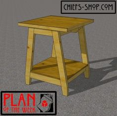 Plan Of The Week: Tool Stand
