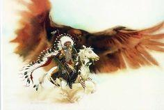 Rushing War Eagle by Bev Doolittle