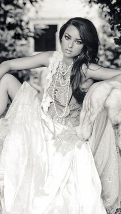 Black and white vintage! Model Fallon Rivers Brad Lovell photos