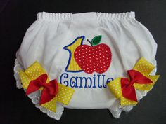 Custom Bloomers..SNOW WHITE INSPIRED bloomers by fairyfashions, $22.00