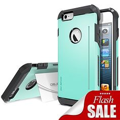 iPhone 6 Case, Obliq [Card Kickstand] iPhone 6 (4.7) Case [SkyLine Pro][Mint] Armor Slim Fit Dual Layer Hard Case Cover- Best Apple iPhone 6 Case for 4.7 Inch (2014)-(Does NOT fit iPhone 5 5S 5C 4 4s or iPhone 6 Plus 5.5 inch screen) - http://www.rekomande.com/iphone-6-case-obliq-card-kickstand-iphone-6-4-7-case-skyline-promint-armor-slim-fit-dual-layer-hard-case-cover-best-apple-iphone-6-case-for-4-7-inch-2014-does-not-fit-iphone-5-5s-5c-4-4s/