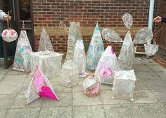 a range of lovely lanterns. Paper Lanterns, Fun Math, Art Festival, Glass Vase, Sculptures, Table Decorations, Halloween, Range, Paper Envelopes
