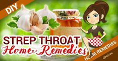 Honey garlic strep throat fix