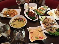 Jasmine Fine Thai Cuisine  1211 Franklin Mall, Santa Clara, CA