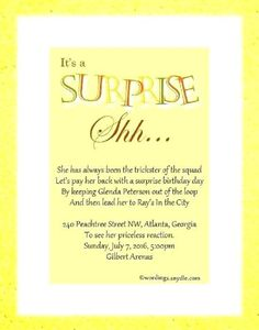 Editable Surprise Baby Shower Invitations Party Invitation Card In