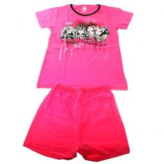 kids pajamas pink