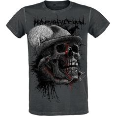 Classica T-Shirt uomo dedicata agli Heaven Shall Burn della speciale R.E.D. by EMP Signature Collection.
