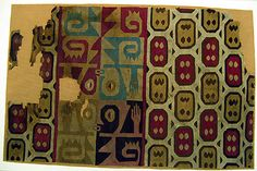 Tunic Fragment Date: 7th–9th century Geography: Peru Culture: Wari Medium: Camelid hair, cotton Accession Number: 32.32.1