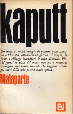 Kaputt   Curzio Malaparte   Vallecchi Editore Firenze, 1966   Design by Bob Noorda