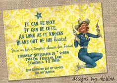 Cowgirl Invite