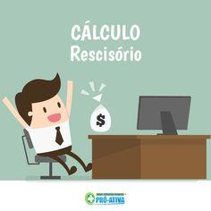 Foi demitido ou vai trocar de emprego? Faço o cálculo rescisório para saber quanto você tem o direito de receber.  👉 http://calculoexato.com.br/parprima.aspx?codMenu=TrabRescisao #ProAtiva #DicaTrabalho #Ipatinga