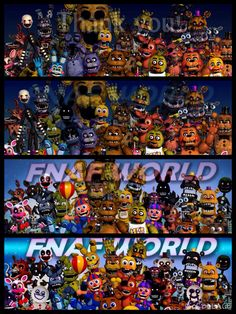 Fnaf world, yup, it got worst than what I thought.....bye world*stabs myself*