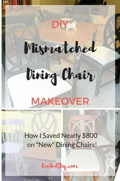 46 Best Mismatched Dining Chairs Images Kitchen Dining