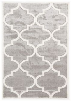 Large Modern Trellis Rug from Rugs Of Beauty. This beautiful patterned, low maintenance, dense pile rug would make a classy addition to any living space.  Available here: https://www.rugsofbeauty.com.au/collections/trellis-rugs/products/large-modern-trellis-rug-silver