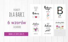 Plakaty dla babci do druku
