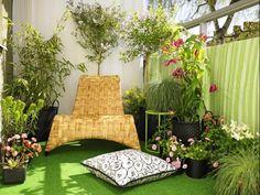 20 ideas para decorar tu pequeño balcón   Goplaceit