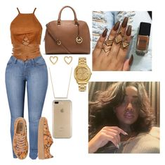 """""""Untitled #775"""" by prinxesss on Polyvore featuring Puma, Michael Kors, Ippolita, Versace, David Yurman and Speck"""