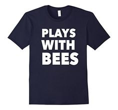 Beekeeper Shirts Plays with Bees Shirt, Beekeeping Shirt This shirt is perfect for the bee lover in your life. Have beekeeping in your blood and on your brain? The beekeeper in your life will love this shirt whether they are an amateur beekeeper or professional. If you keep honeybees for fun or to help save the bees or showing that all hives matter. This funny beekeeping shirt features a beehive full of bees and honey with the phrase Hive Mind above.
