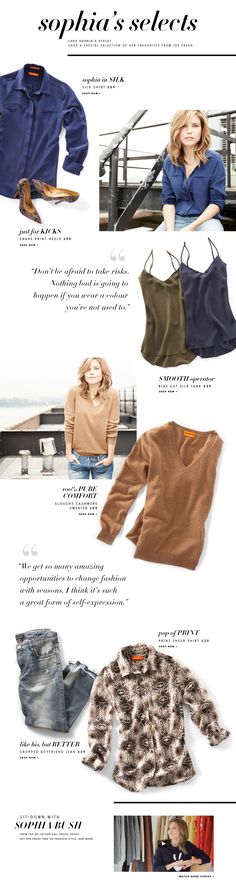 We love Sophia Selects from @joefresh! It's a great #giftguide