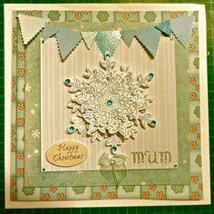 Christmas card for mum