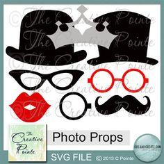 The Creative Pointe: Photo Props SVG and a Wedding Recap!