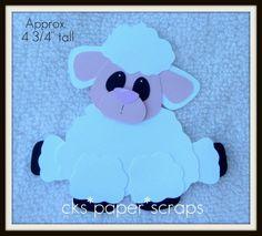 Farm LAMB SHEEP Paper Piecing - bjl