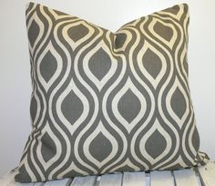 One pillow cover using the same fabric in the front and back for each pillow covers. The covers are made slightly smaller to fit perfectly