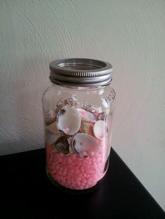 Added some Gain fireworks to a jar of shells as an impromptu air refresher.