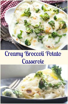 Creamy Broccoli Pota