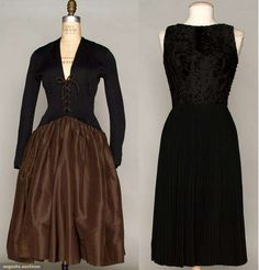 Two Norell Cocktail Dresses, 1959-1967, Augusta Auctions