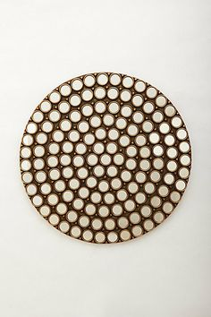 DIY Inspiration   Cordona Mirror  #anthropologie
